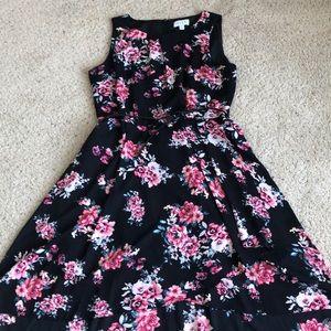 Elle floral dress size 16